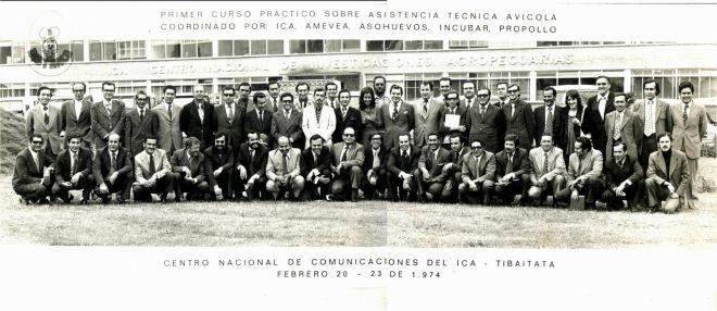 4-I-Curso-Tecnico-Avícola-Tibaitatá-1974